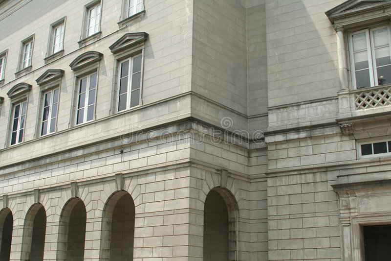 architektura budynku interesy starego kamienia fotografia royalty free