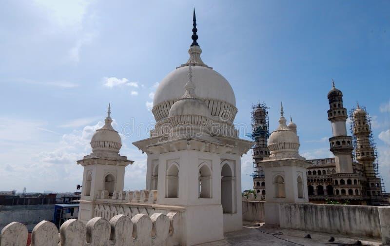 Architektura 400 Charminar roczniak, Hyderabad, India zdjęcia stock