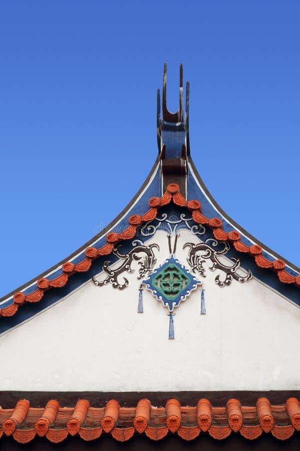 architektura chińczyk zdjęcie royalty free