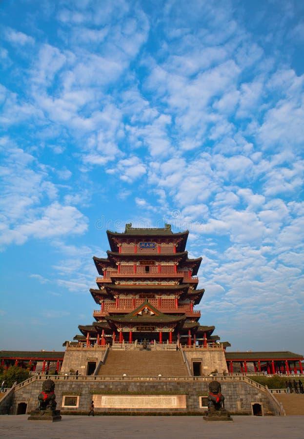architektura chińczyk obraz royalty free