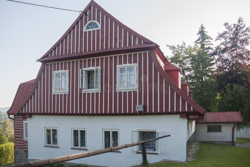 Download Architektura Czeskie góry zdjęcie stock. Obraz złożonej z podróż - 57652644