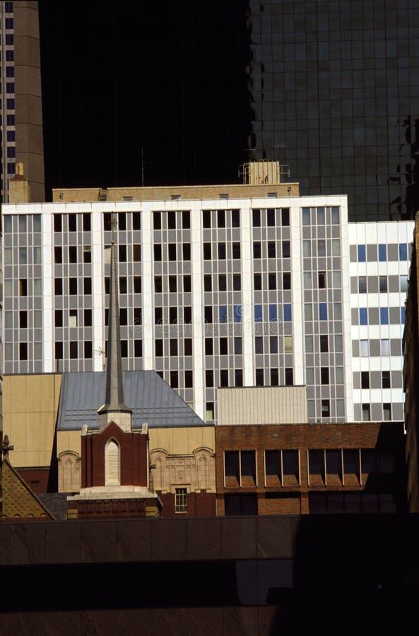 architektura Dallas Texas fotografia stock
