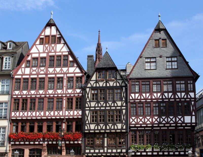Architektura Frankfurt magistrala - Am - obraz stock