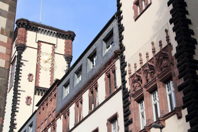 Architektura Frankfurt magistrala - Am - fotografia stock