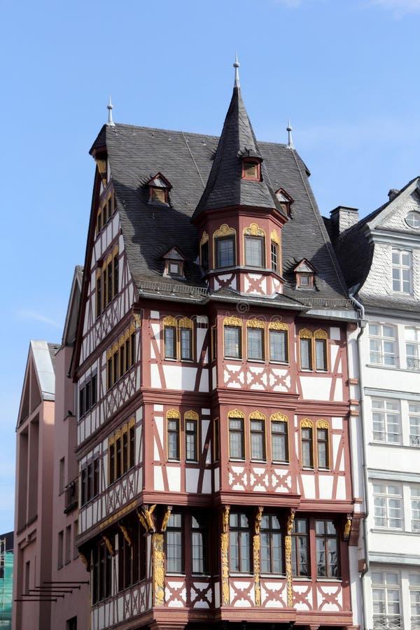 Architektura Frankfurt magistrala - Am - obrazy royalty free