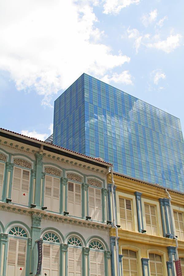 architektura interesy nowoczesnego budynku od tog obraz stock