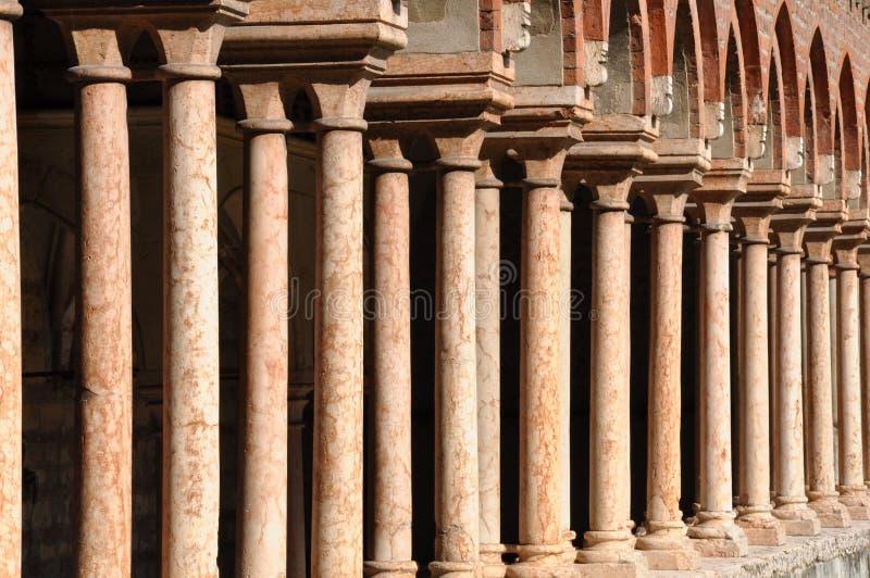 Architektura Kościelny San Zeno zdjęcia royalty free