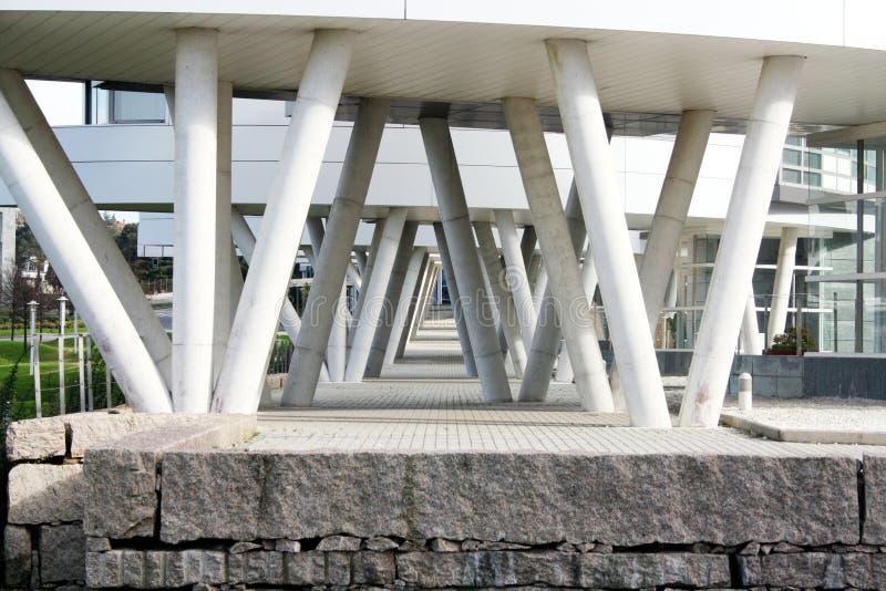 Architektura, kolumna budynek fotografia stock