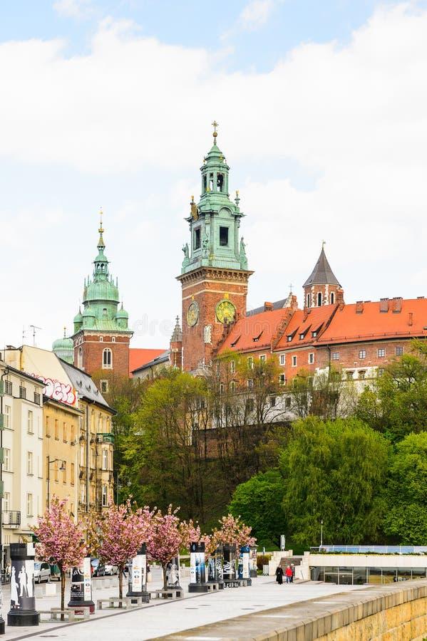 Architektura Krakow, Polska obrazy stock