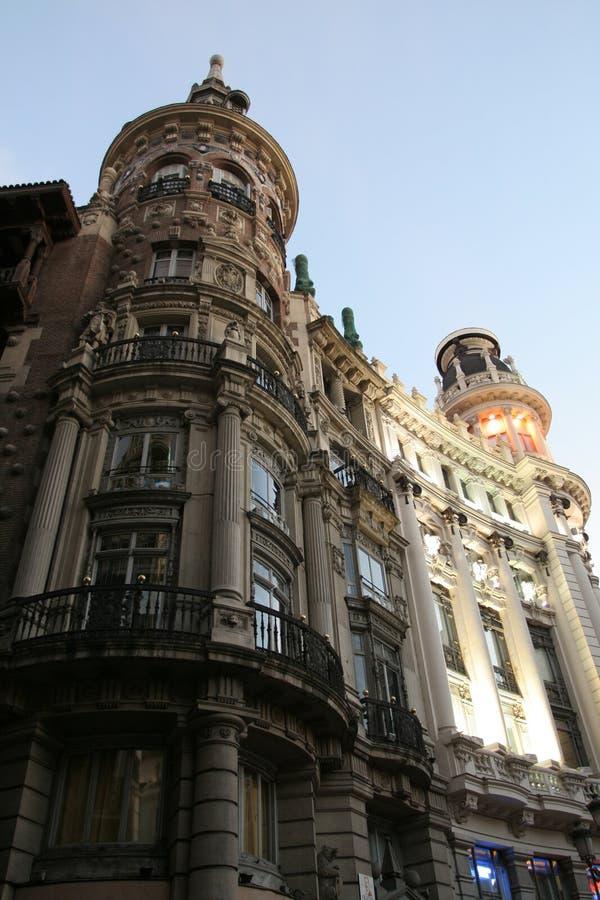 architektura Madryt obraz stock
