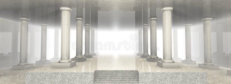 architektura marmur ilustracja wektor