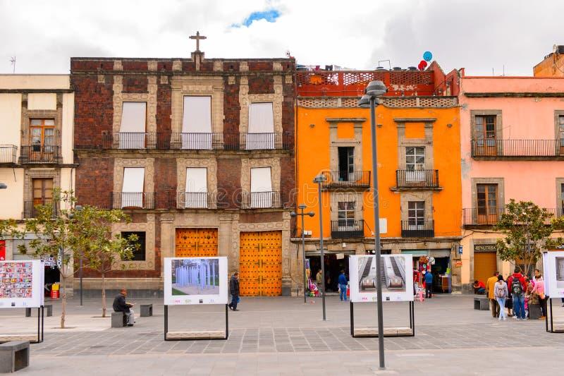 Architektura Meksyk DF obraz royalty free