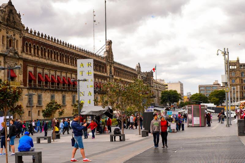 Architektura Meksyk DF zdjęcie stock