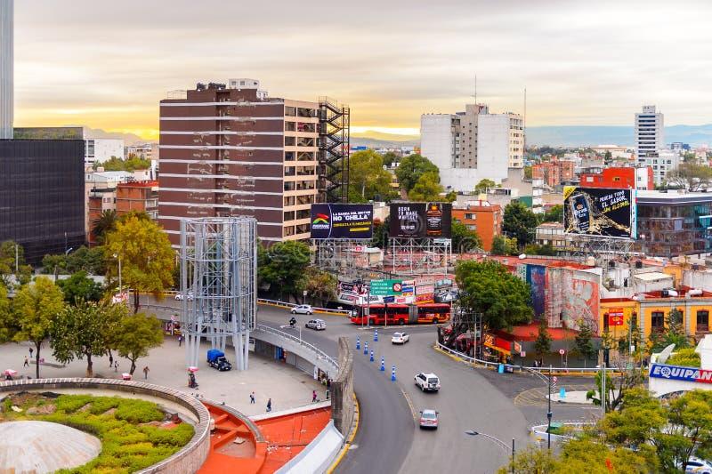 Architektura Meksyk DF obrazy royalty free