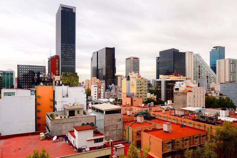 Architektura Meksyk DF zdjęcia stock