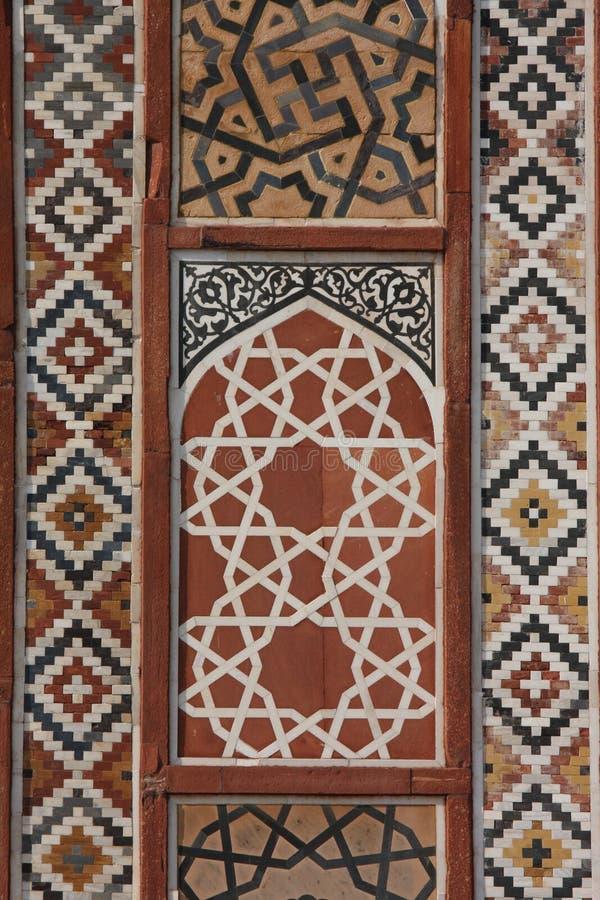 architektura mughal obraz stock