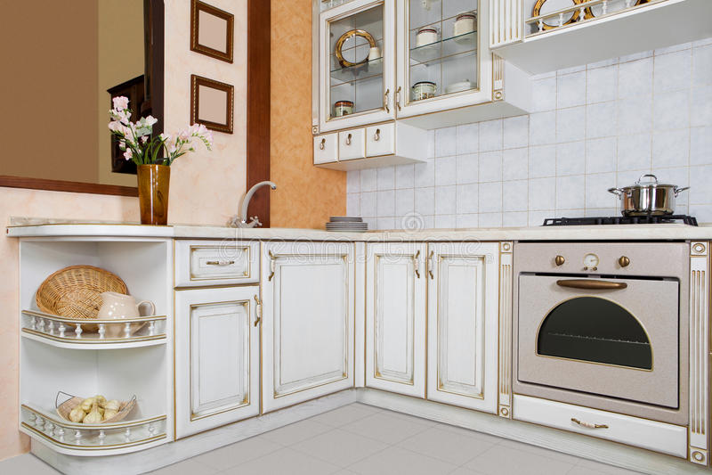 architektura obrazek kuchenny nowożytny zdjęcie stock