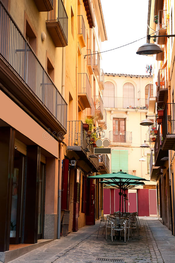 Architektura Olot Hiszpania fotografia royalty free