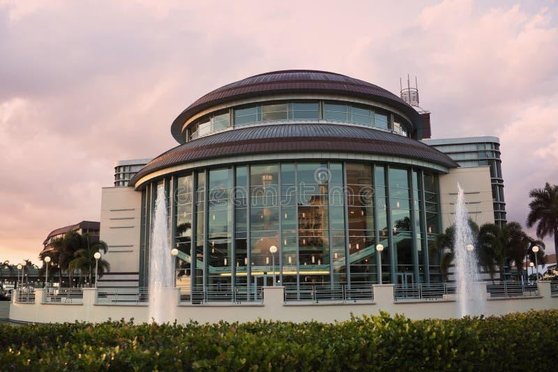 Architektura Palmy Zachodni Plaża zdjęcia royalty free