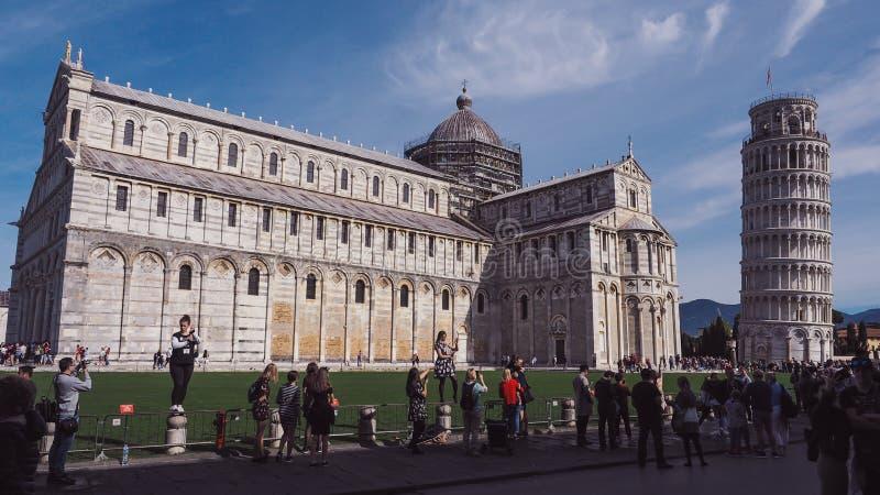 Architektura Pisa, Włochy obraz royalty free