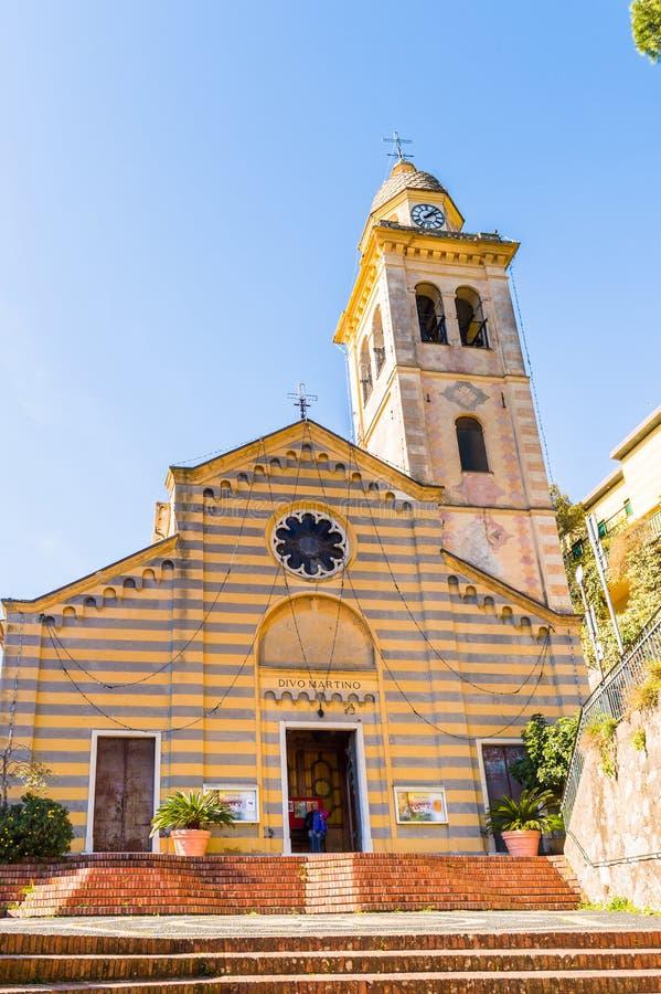 Architektura Portofino, Włochy obrazy stock