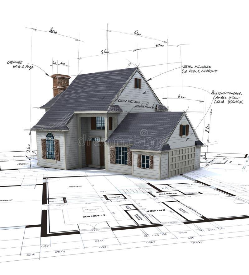 architektura projekt zdjęcie stock