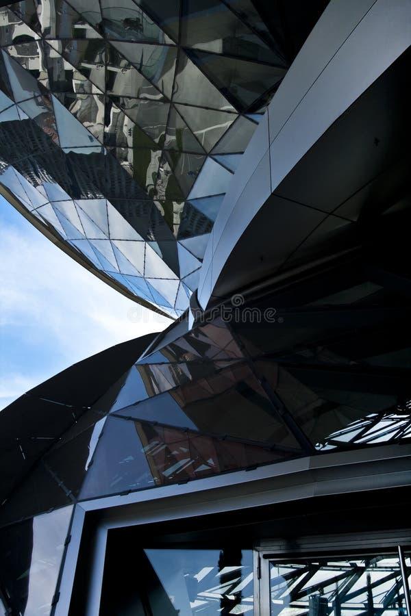 architektura przekręcająca zdjęcie stock