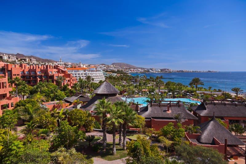 Architektura przy Tenerife wyspą - kanarki obraz royalty free