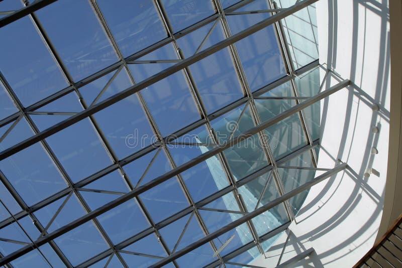 architektura szczegółów szkła fotografia royalty free