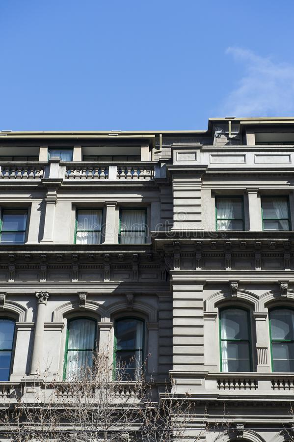 Architektura szczegół budynek w Australia zdjęcia royalty free