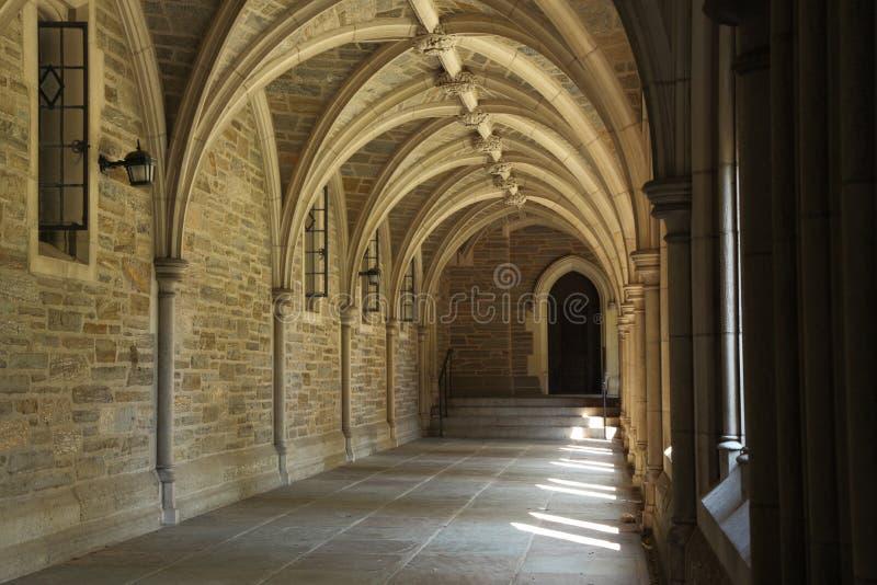Architektura szczegół w uniwersytet princeton zdjęcia stock