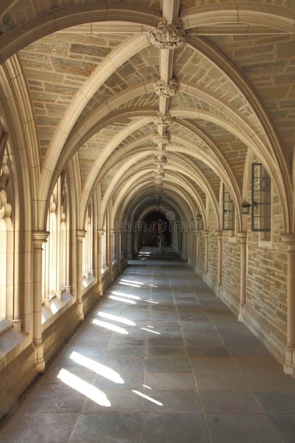 Architektura szczegół w uniwersytet princeton zdjęcia royalty free