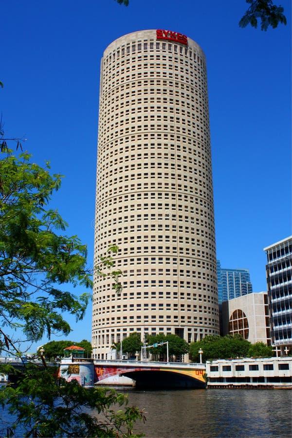 architektura Tampa obrazy stock