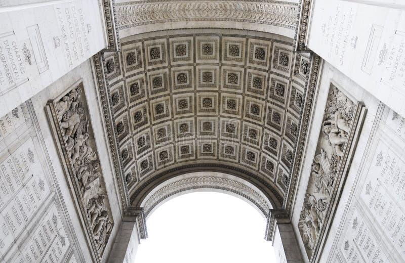 Architektura Triumfalny łuk zdjęcie royalty free