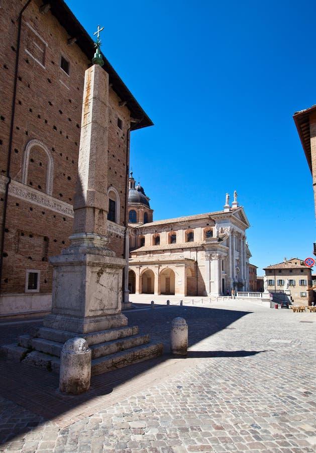 architektura Urbino obraz stock