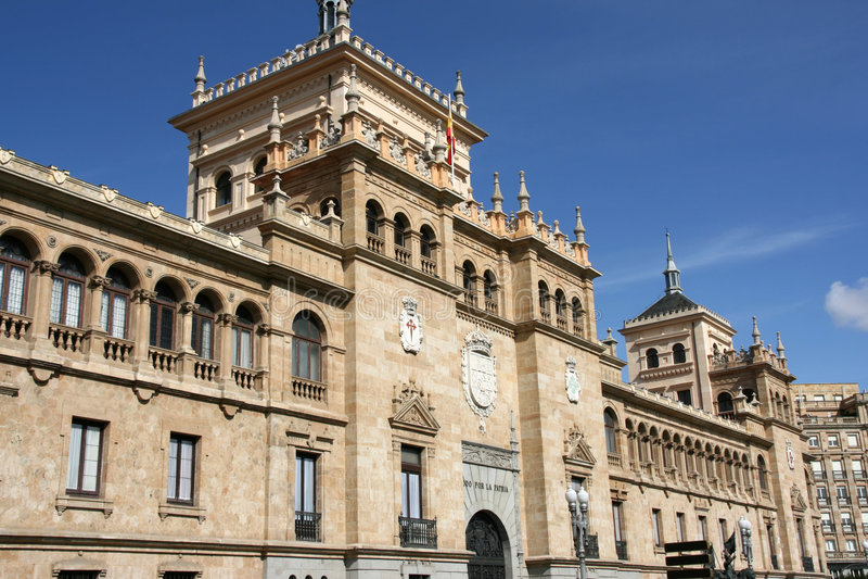 architektura Valladolid fotografia royalty free