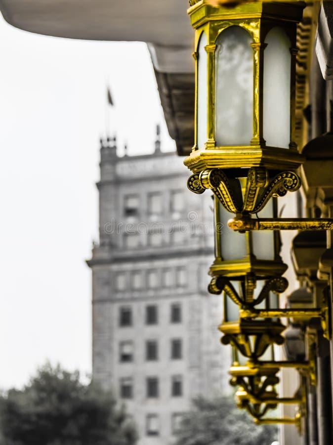 Architektura w Barcelona obrazy royalty free