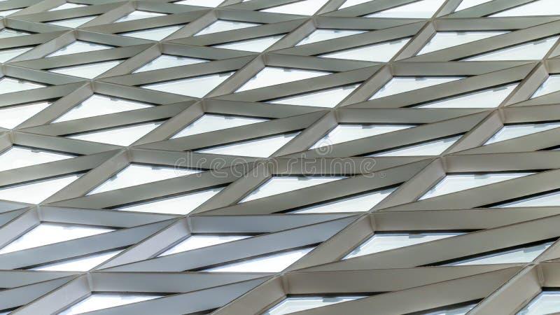 Architektura w centrum handlowym MyZeil obrazy stock
