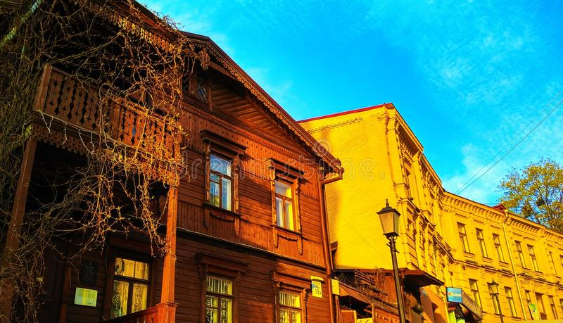 Architektura w Kijów obraz stock