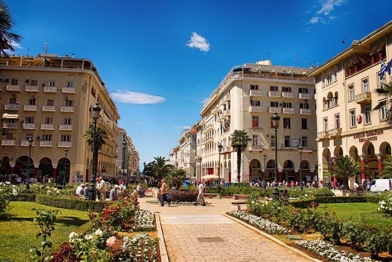 Architektura w Saloniki fotografia stock