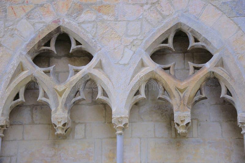 architektura wyszczególnia gothic fotografia stock