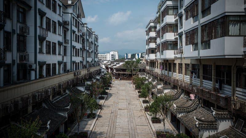 Architektura Yiwu International Trade City Chiny fotografia stock