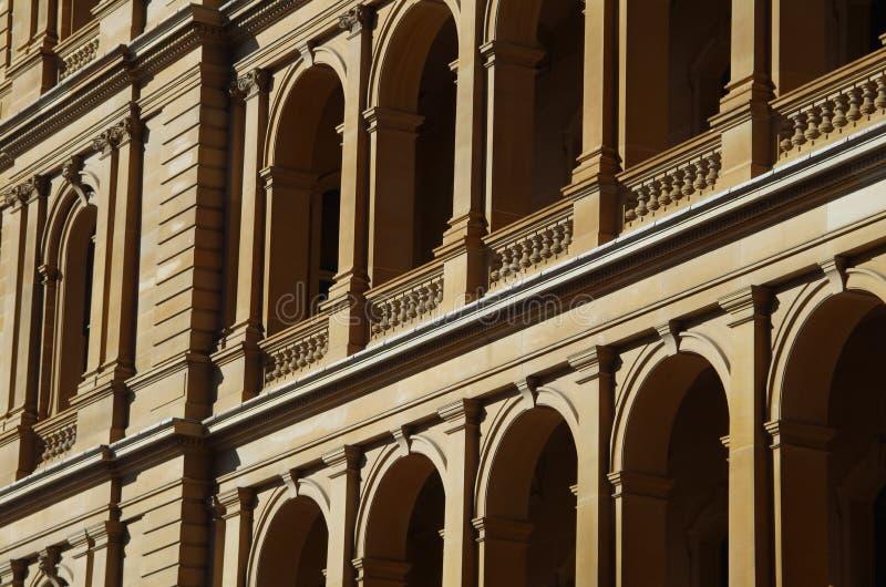 architektura za klasycznym szczegółu poduszek widok fotografia royalty free