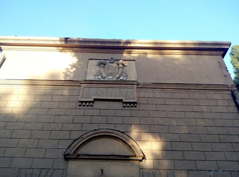 Architektura zbutwiała ruina obraz royalty free