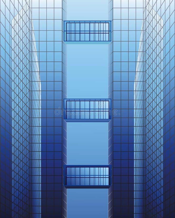 Architekturaufbau lizenzfreie abbildung