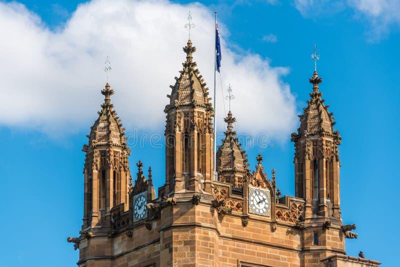 Architekturdetail auf berühmtes Viereckgebäude herein Uni stockfotos