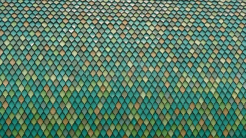 Architekturdetail von hölzernen Dachplatten stockfotografie
