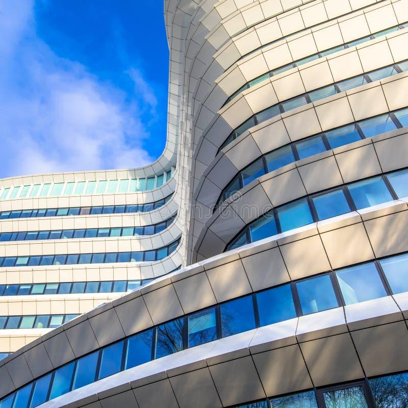 Architekturdetails eines zeitgenössischen Büros lizenzfreie stockfotografie