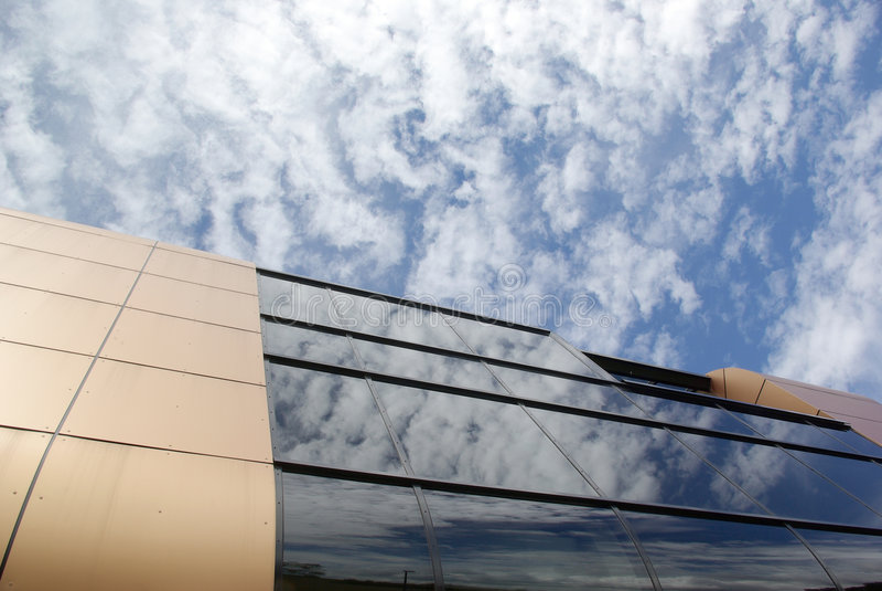 Architekturperspektive stockfotografie