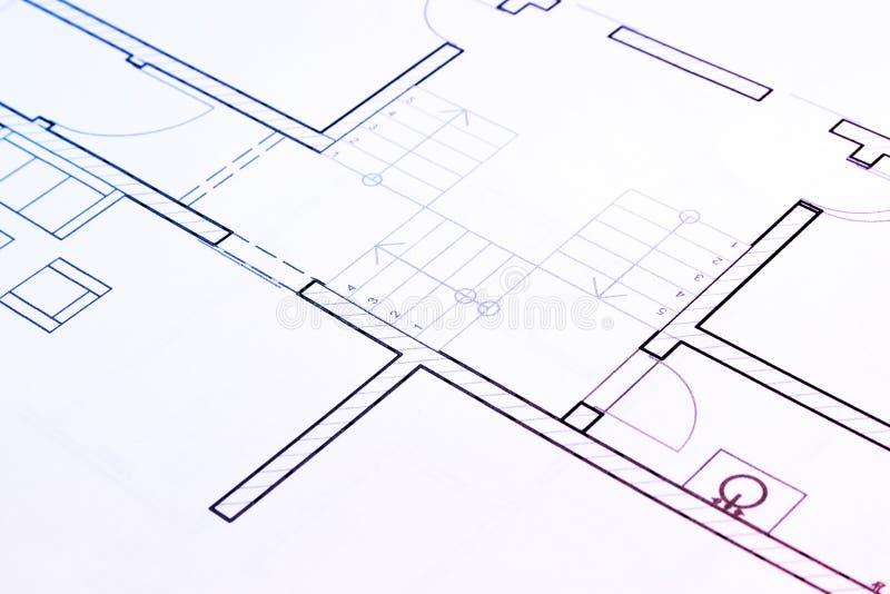 Architekturplan stockfotos